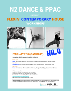 """Dancers Unlimited"" presents Flexin, Contemporary & House - Three Professional Dance Workshops"