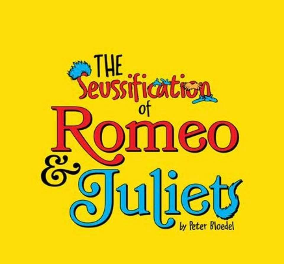 Kidshakes - The Seussification of Romeo and Juliet