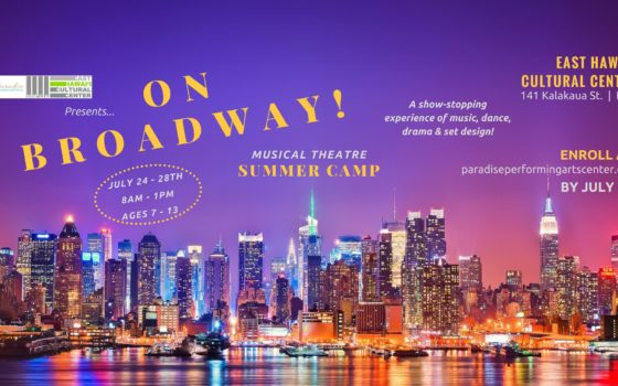 """""""ON BROADWAY"""" MUSICAL THEATER SUMMER CAMP!!"""